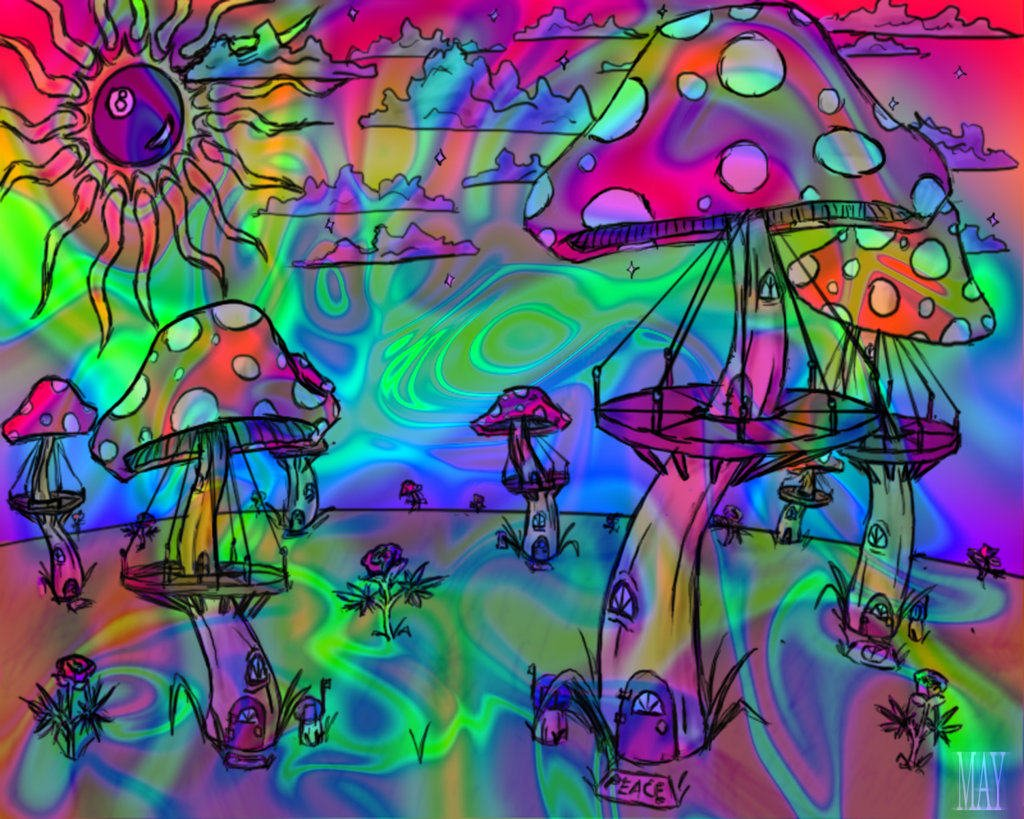 free trippy backgrounds coloring pages