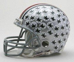 Ohio State Buckeyes helmet.