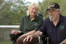 Cathy Jordan and Robert Jordan