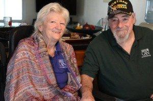 Cathy and Robert Jordan.