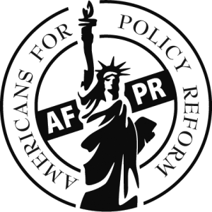 The logo for Americans for Policy Reform, the organization behind this new initiative.