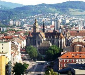 The Slovakia capital, Bratislava.